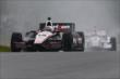 Will Power on course during qualifications for the Honda Indy 200 at Mid-Ohio -- Photo by: Bret Kelley