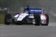 Mikhail Aleshin on course during qualifications for the Honda Indy 200 at Mid-Ohio -- Photo by: Bret Kelley