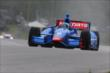 Ryan Briscoe on course during qualifications for the Honda Indy 200 at Mid-Ohio -- Photo by: Bret Kelley