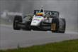 Mike Conway on course during qualifications for the Honda Indy 200 at Mid-Ohio -- Photo by: Bret Kelley