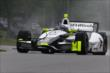Josef Newgarden on course during qualifications for the Honda Indy 200 at Mid-Ohio -- Photo by: Bret Kelley