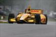 Ryan Hunter-Reay on course during qualifications for the Honda Indy 200 at Mid-Ohio -- Photo by: Bret Kelley