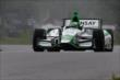 Carlos Munoz on course during qualifications for the Honda Indy 200 at Mid-Ohio -- Photo by: Bret Kelley