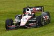 Will Power briefly slides off course during qualifications for the Honda Indy 200 at Mid-Ohio -- Photo by: Bret Kelley