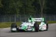 Carlos Munoz heads towards the Turn 2 Keyhole during practice for the Honda Indy 200 at Mid-Ohio -- Photo by: Chris Jones