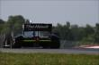 Jack Hawksworth apexes the Turn 2 Keyhole during practice for the Honda Indy 200 at Mid-Ohio -- Photo by: Chris Jones