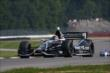 Jack Hawksworth enters the Turn 2 Keyhole turn during practice for the Honda Indy 200 at Mid-Ohio -- Photo by: Chris Jones