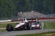 Will Power enters the Turn 2 Keyhole during practice for the Honda Indy 200 at Mid-Ohio -- Photo by: Chris Jones