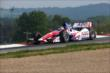 Takuma Sato navigates the Turn 2 Keyhole turn during practice for the Honda Indy 200 at Mid-Ohio -- Photo by: Chris Jones