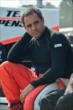 Juan Pablo Montoya sits on his pit wall prior to practice for the Honda Indy 200 at Mid-Ohio -- Photo by: Chris Owens