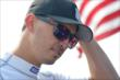 Graham Rahal waits in his pit stand prior to practice for the Honda Indy 200 at Mid-Ohio -- Photo by: Chris Owens