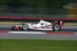Juan Pablo Montoya on course during practice for the Honda Indy 200 at Mid-Ohio -- Photo by: Chris Owens