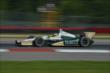 Mike Conway exits Turn 1 during practice for the Honda Indy 200 at Mid-Ohio -- Photo by: Chris Owens