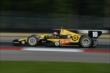 Tony Kanaan exits Turn 1 during practice for the Honda Indy 200 at Mid-Ohio -- Photo by: Chris Owens