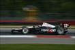 Will Power apexes Turn 1 during practice for the Honda Indy 200 at Mid-Ohio -- Photo by: Chris Owens