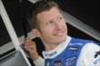 Ryan Briscoe in his pit stand prior to practice for the Honda Indy 200 at Mid-Ohio -- Photo by: Joe Skibinski