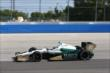 Ed Carpenter enters Turn 3 during practice for the ABC Supply Wisconsin 250 at the Milwaukee Mile -- Photo by: Chris Jones