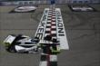 Josef Newgarden crosses the start/finish line during practice for the ABC Supply Wisconsin 250 at the Milwaukee Mile -- Photo by: Chris Jones