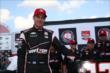 Will Power wins the Verizon P1 Award for the ABC Supply Wisconsin 250 at the Milwaukee Mile -- Photo by: Chris Jones