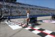 The winner of the annual rickshaw race held during pre-race festivities prior to the ABC Supply Wisconsin 250 at the Milwaukee Mile -- Photo by: Chris Jones