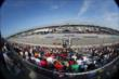 Track activity heats up during the ABC Supply Wisconsin 250 at the Milwaukee Mile -- Photo by: Chris Jones