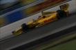 Ryan Hunter-Reay enters Turn 4 during the ABC Supply Wisconsin 250 at the Milwaukee Mile -- Photo by: Shawn Gritzmacher
