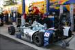 The National Guard car of Graham Rahal in the Pocono Raceway paddock -- Photo by: Chris Jones