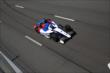 Mikhail Aleshin streaks toward the start/finish line during practice at Pocono Raceway -- Photo by: Bret Kelley