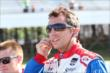 Justin Wilson on pit lane prior to qualifications for the Pocono INDYCAR 500 -- Photo by: Bret Kelley