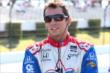 Justin Wilson waits on pit lane prior to qualifications for the Pocono INDYCAR 500 -- Photo by: Bret Kelley