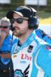 James Hinchcliffe on pit lane during qualifications for the Pocono INDYCAR 500 -- Photo by: Bret Kelley