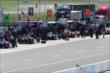 Pit Lane comes to life prior to practice at Pocono Raceway for the Pocono INDYCAR 500 -- Photo by: Bret Kelley