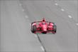 Tony Kanaan streaks down the frontstretch  during practice at Pocono Raceway -- Photo by: Bret Kelley