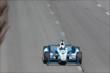 Juan Pablo Montoya streaks down the frontstretch during practice at Pocono Raceway -- Photo by: Bret Kelley