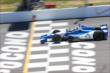 Carlos Huertas crosses the start/finish line during practice at Pocono Raceway for the Pocono INDYCAR 500 -- Photo by: Bret Kelley