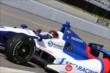 Mikhail Aleshin exits pit lane during practice at Pocono Raceway -- Photo by: Chris Jones