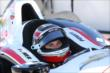 Will Power waits on pit lane prior to practice at Pocono Raceway -- Photo by: Chris Jones