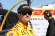 Ryan Hunter-Reay waits on pitlane prior to practice at Pocono Raceway -- Photo by: Chris Jones