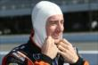 Simon Pagenaud prepares for qualifications for the Pocono INDYCAR 500 at Pocono Raceway -- Photo by: Chris Jones