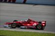 Scott Dixon enters Turn 1 during practice at Pocono Raceway for the 2014 Pocono INDYCAR 500 -- Photo by: Chris Jones