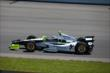 Josef Newgarden heads into Turn 1 during practice at Pocono Raceway for the 2014 Pocono INDYCAR 500 -- Photo by: Chris Jones