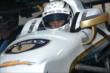 Ed Carpenter is strapped into his car prior to practice for the Pocono INDYCAR 500 at Pocono Raceway -- Photo by: Chris Owens