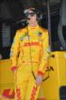 Ryan Hunter-Reay on pit lane prior to practice for the Pocono INDYCAR 500 at Pocono Raceway -- Photo by: Chris Owens