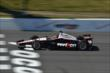 Will Power crosses the start/finish line during practice for the  Pocono INDYCAR 500 at Pocono Raceway -- Photo by: Chris Owens
