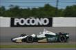 Ed Carpenter exits Turn 2 during practice for the  Pocono INDYCAR 500 at Pocono Raceway -- Photo by: Chris Owens
