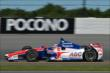 Takuma Sato exits Turn 2 during practice for the  Pocono INDYCAR 500 at Pocono Raceway -- Photo by: Chris Owens