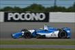 Carlos Huertas exits Turn 2 during practice for the  Pocono INDYCAR 500 at Pocono Raceway -- Photo by: Chris Owens