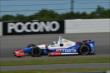 Ryan Briscoe exits Turn 2 during practice for the  Pocono INDYCAR 500 at Pocono Raceway -- Photo by: Chris Owens