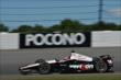 Will Power enters Turn 3 during practice for the  Pocono INDYCAR 500 at Pocono Raceway -- Photo by: Chris Owens