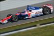Takuma Sato on course during practice for the  Pocono INDYCAR 500 at Pocono Raceway -- Photo by: Chris Owens